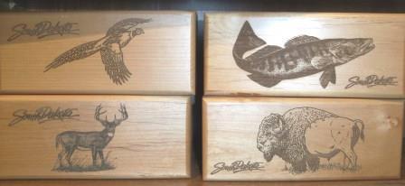 Cedar Box w/Various Images