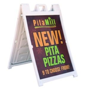 Menu Board A Frame Sign