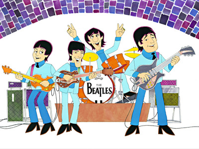 Beatles Cartoon Pop Art Show featuring animator Ron Campbell