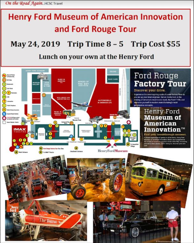 May 24 Henry Ford Museum
