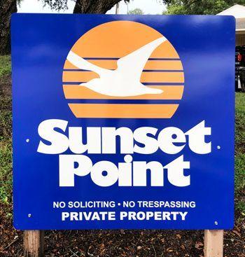 Community Entrance Sign