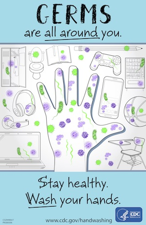Germs Are All Around You