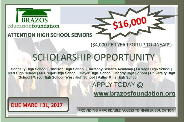 2017 Scholarship Application is Open!