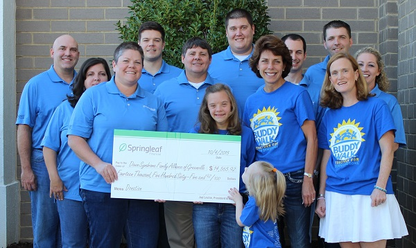 check presentation from Springleaf Financial