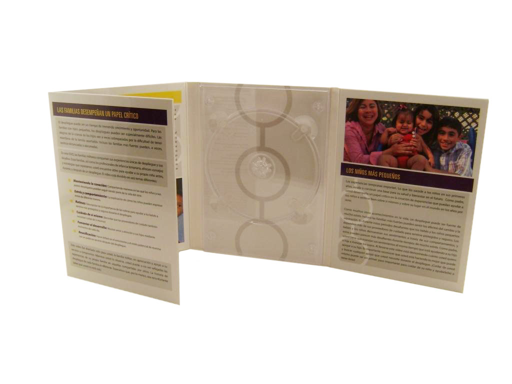 4 Panel CD Packaging