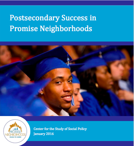 Postsecondary Success in Promise Neighborhoods