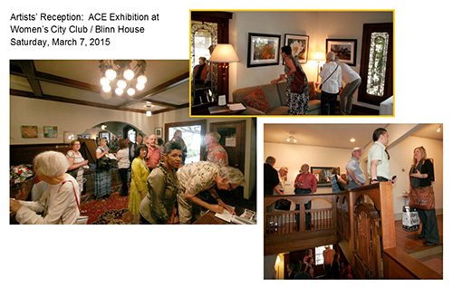 2015 - Artists Choice Exhibition at Blinn House - March - May