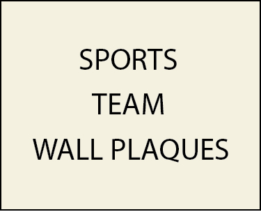 Z35500 - - Wall Plaques for Professional, College and High School Sports Teams (Football, Baseball, Basketball, Hockey, Soccer, Golf, Tennis, Swimming)