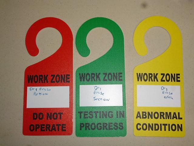 Work Zone Hangers