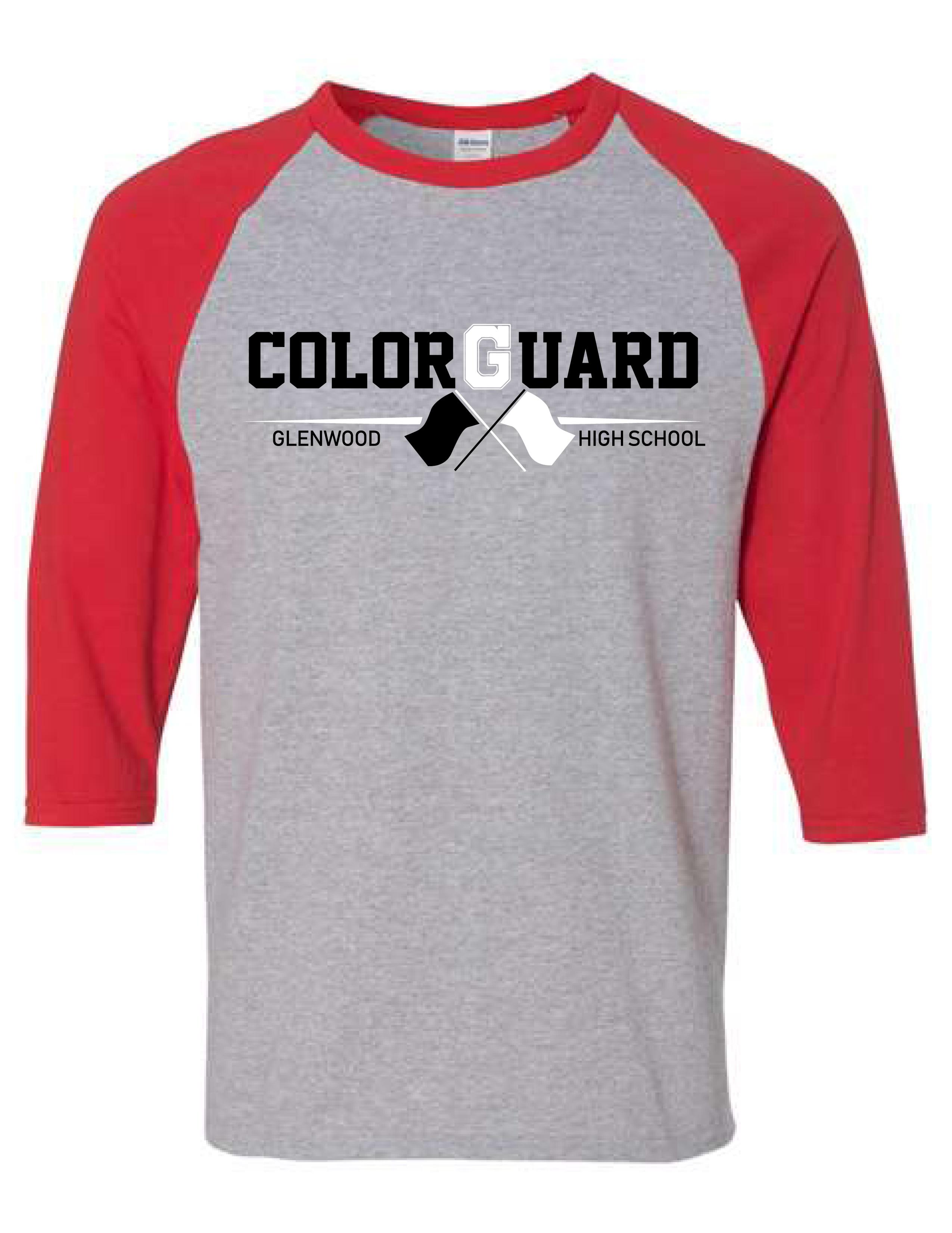 Glenwood Color Guard - Baseball Tee