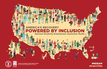 National Disability Employment Awareness Month: October 2021