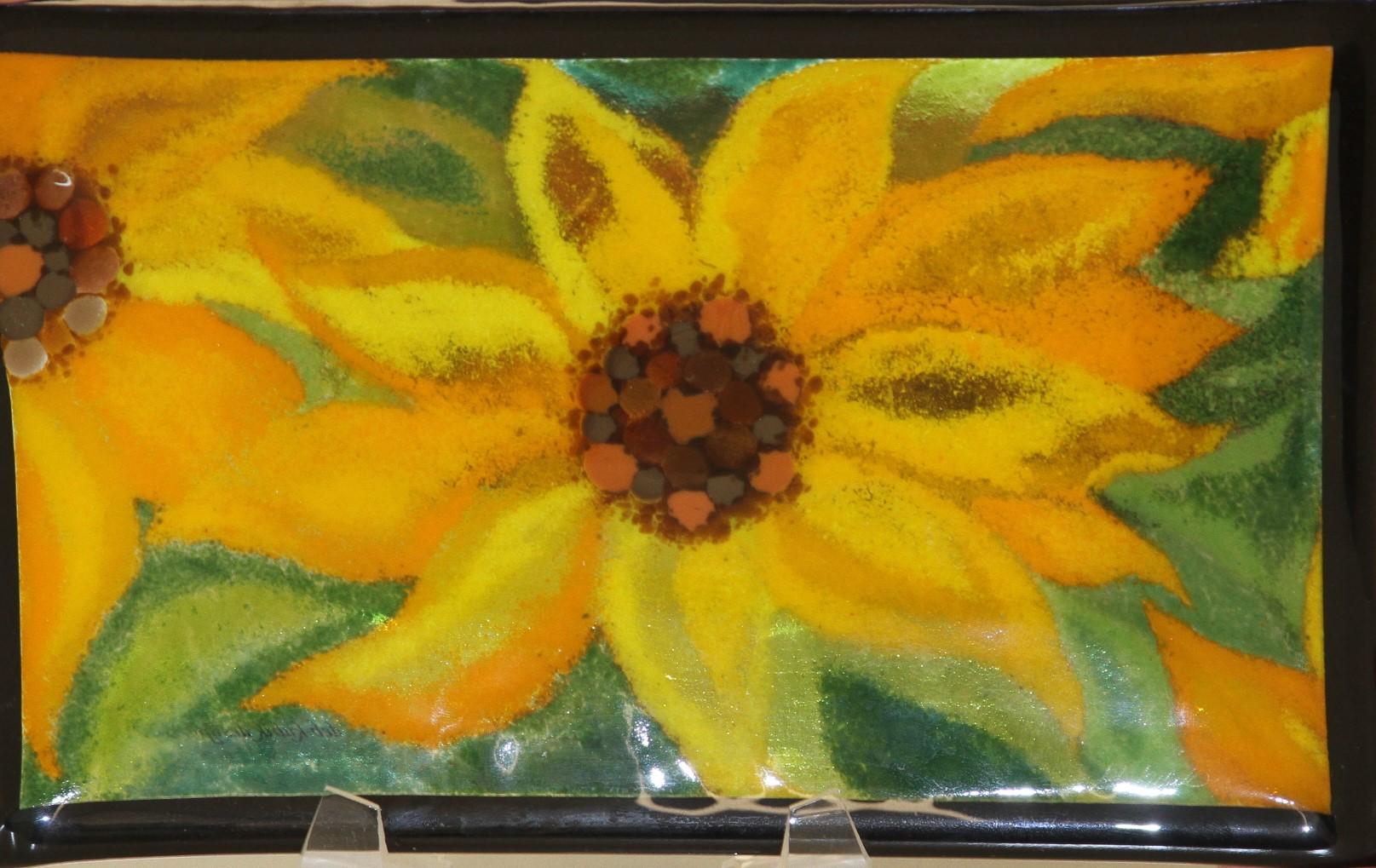 Sunflower Black Border