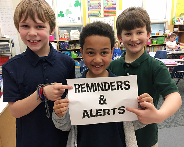 Reminders and Alerts