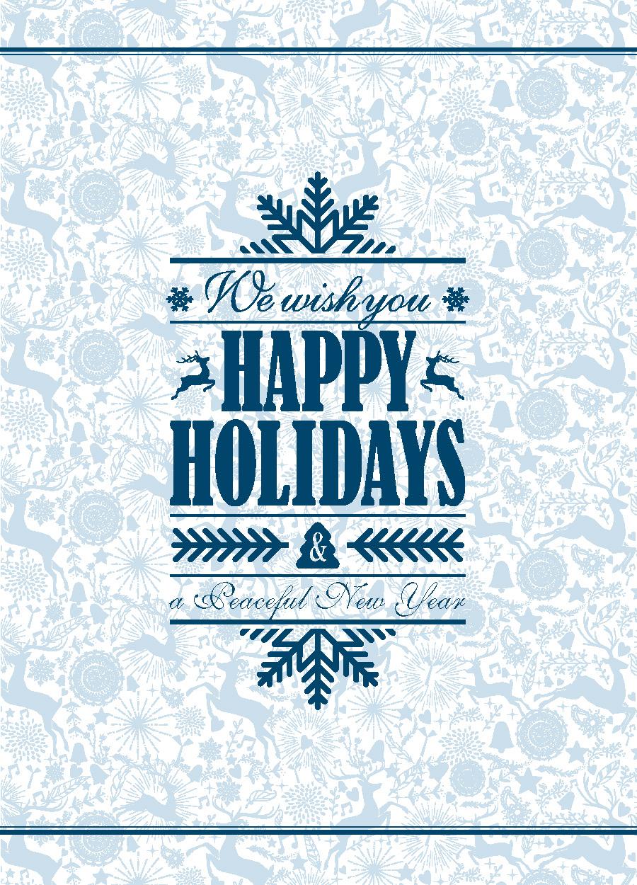 Happy Holiday Reindeer
