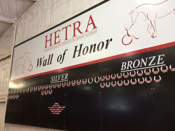 Wall of Honor Donors
