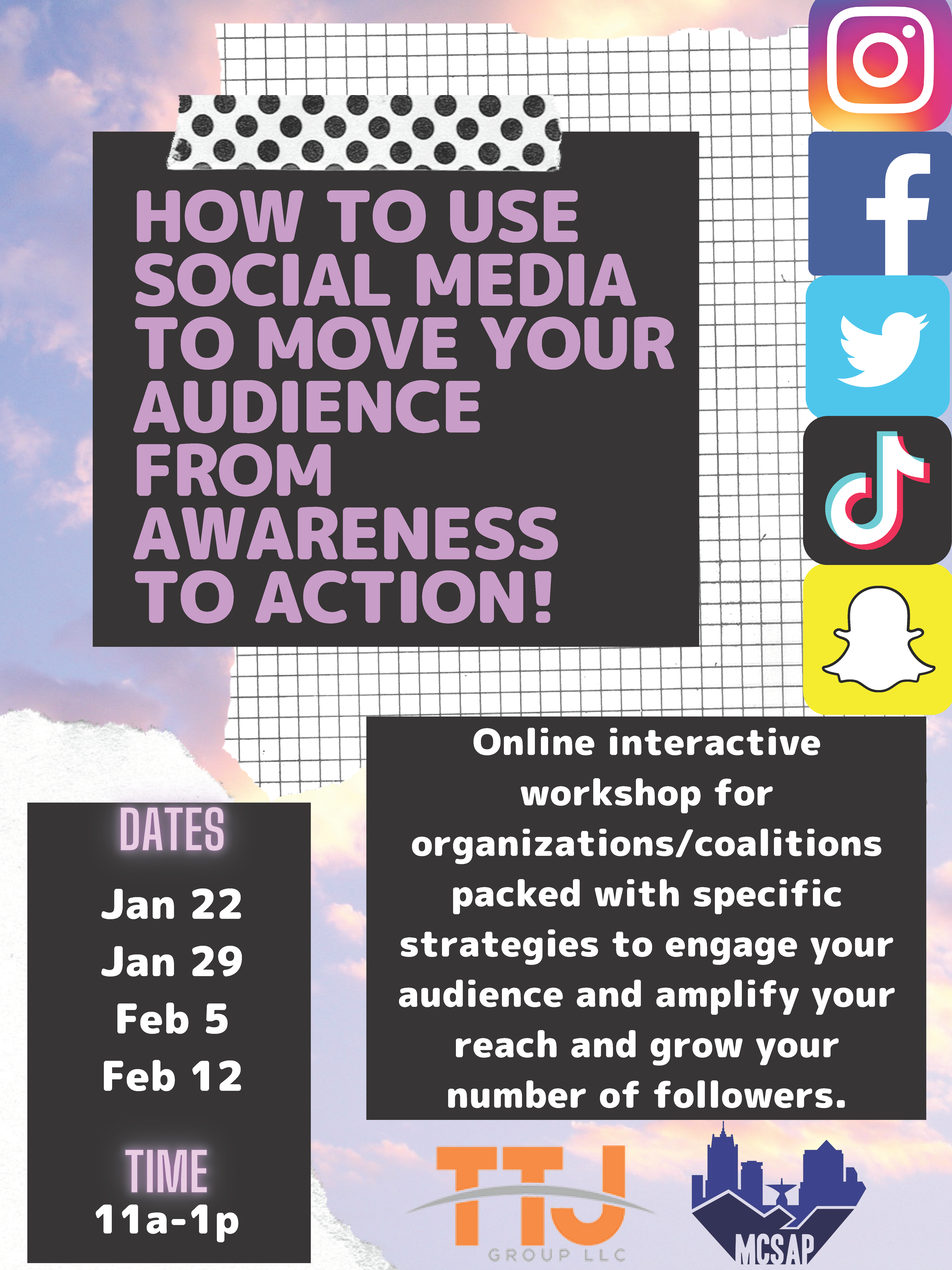 Moving Your Audience from Awareness to Action | Session 4