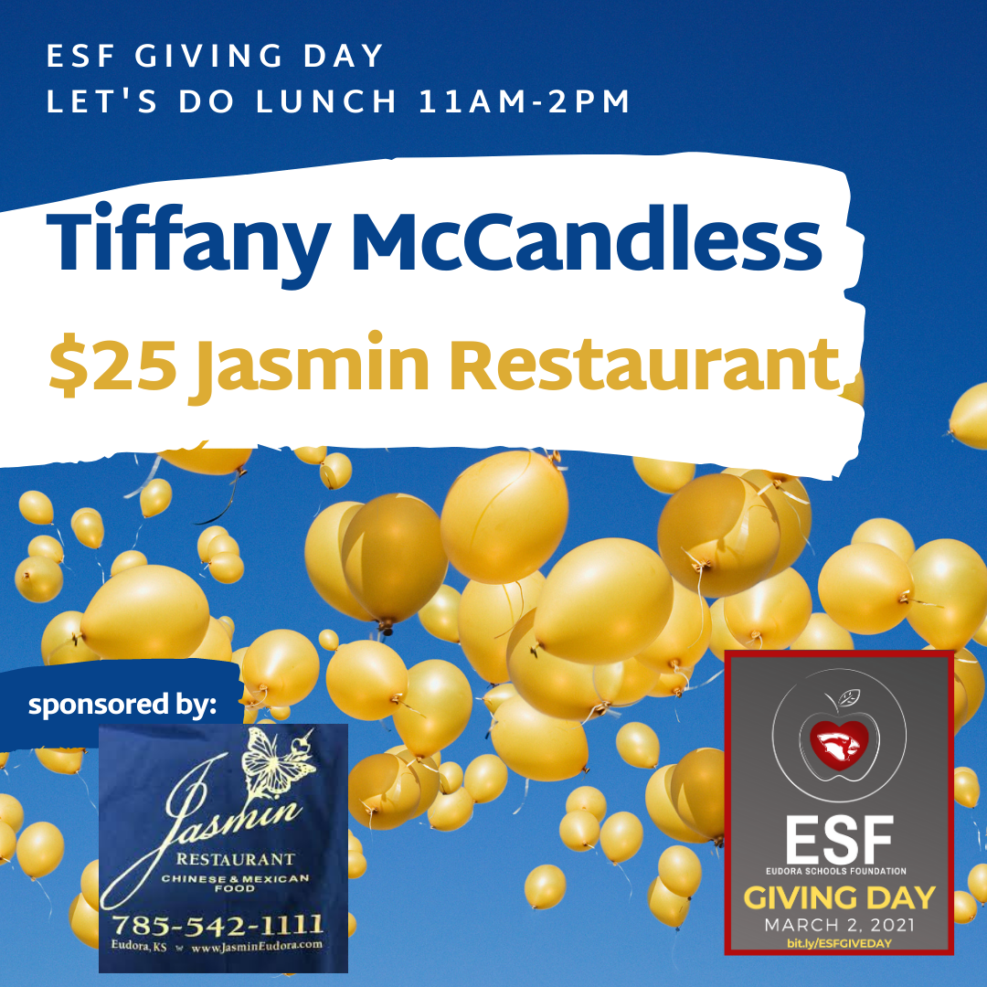 Let's Do Lunch - $25 Jasmins
