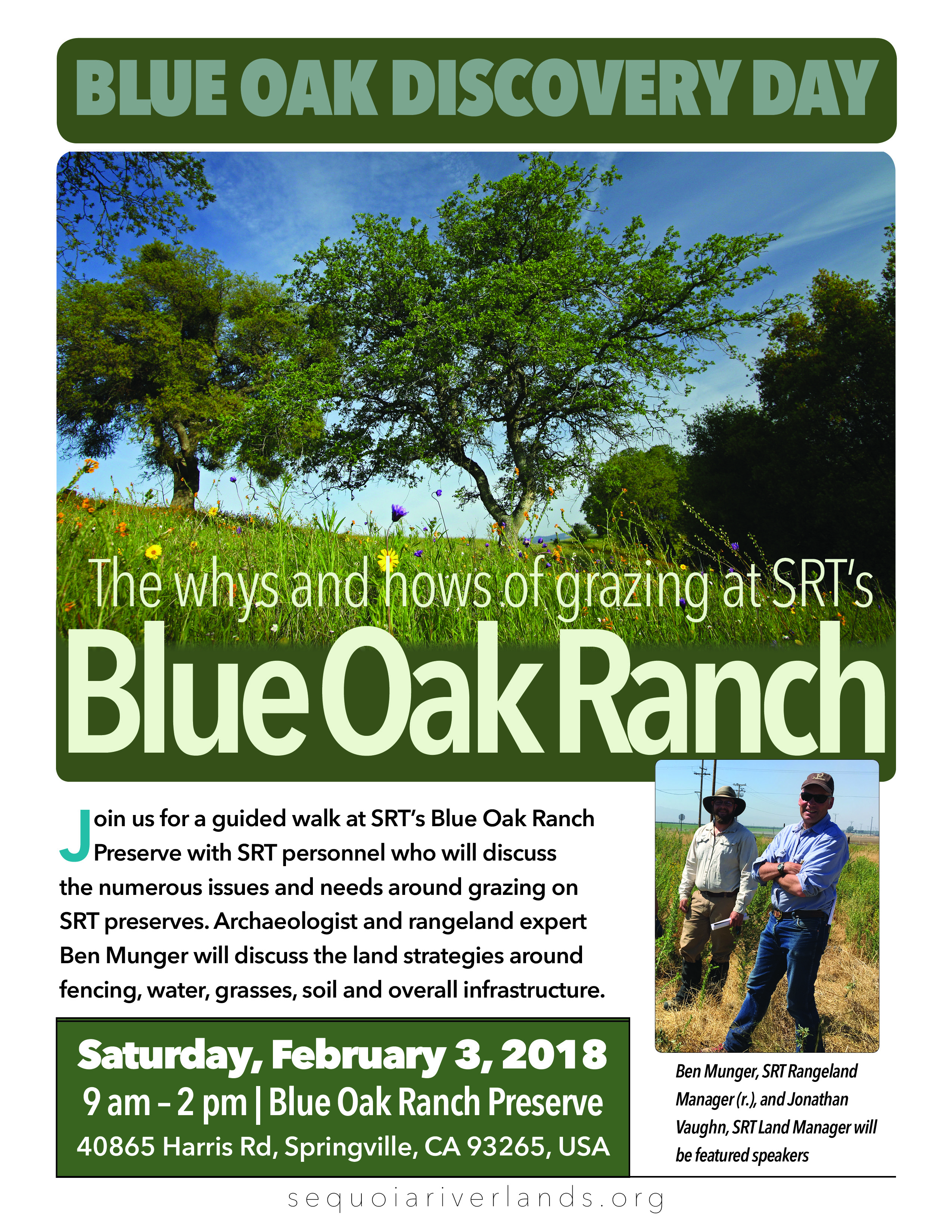 Blue Oak Discovery Day: The Whys and Hows of Grazing