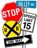 Traffic & Regulatory Signs