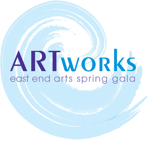 Press Invitation - East End Arts ARTworks Gala Kickoff Party (posted October 21, 2015)