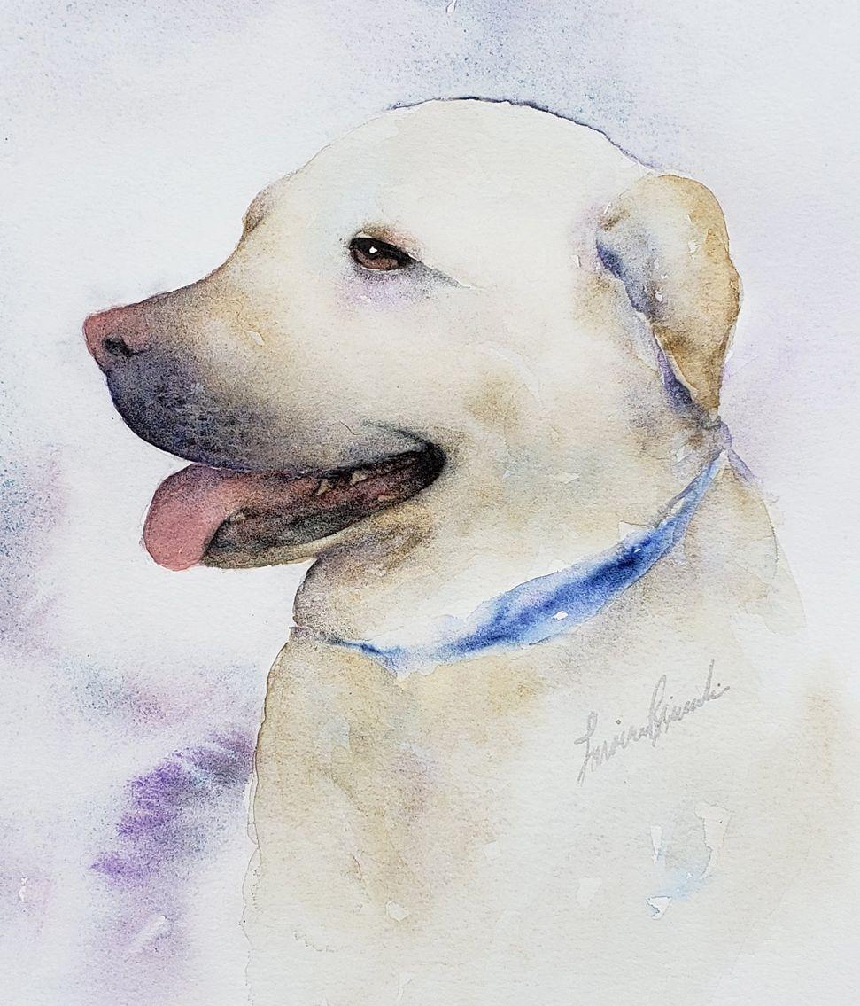 Lorraine Rimmelin, Watercolor