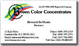 Breen Color Concentrates