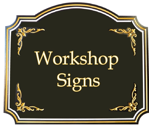 (G) - Home Workshop Signs