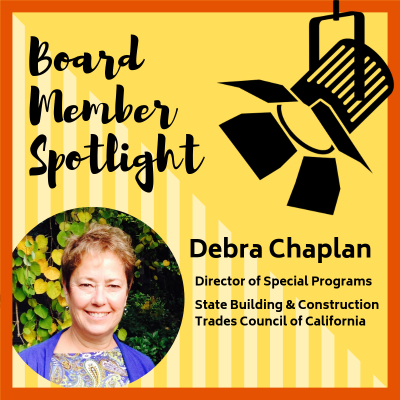 Meet the Board: Debra Chaplan