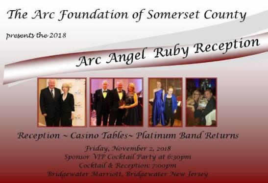 2018 Arc Angel Ruby Reception & Casino Night Fundraiser