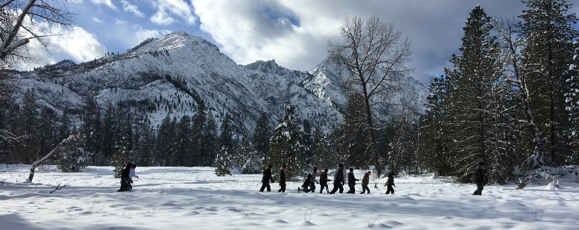 Snowshoe Tour at Fish Hatchery