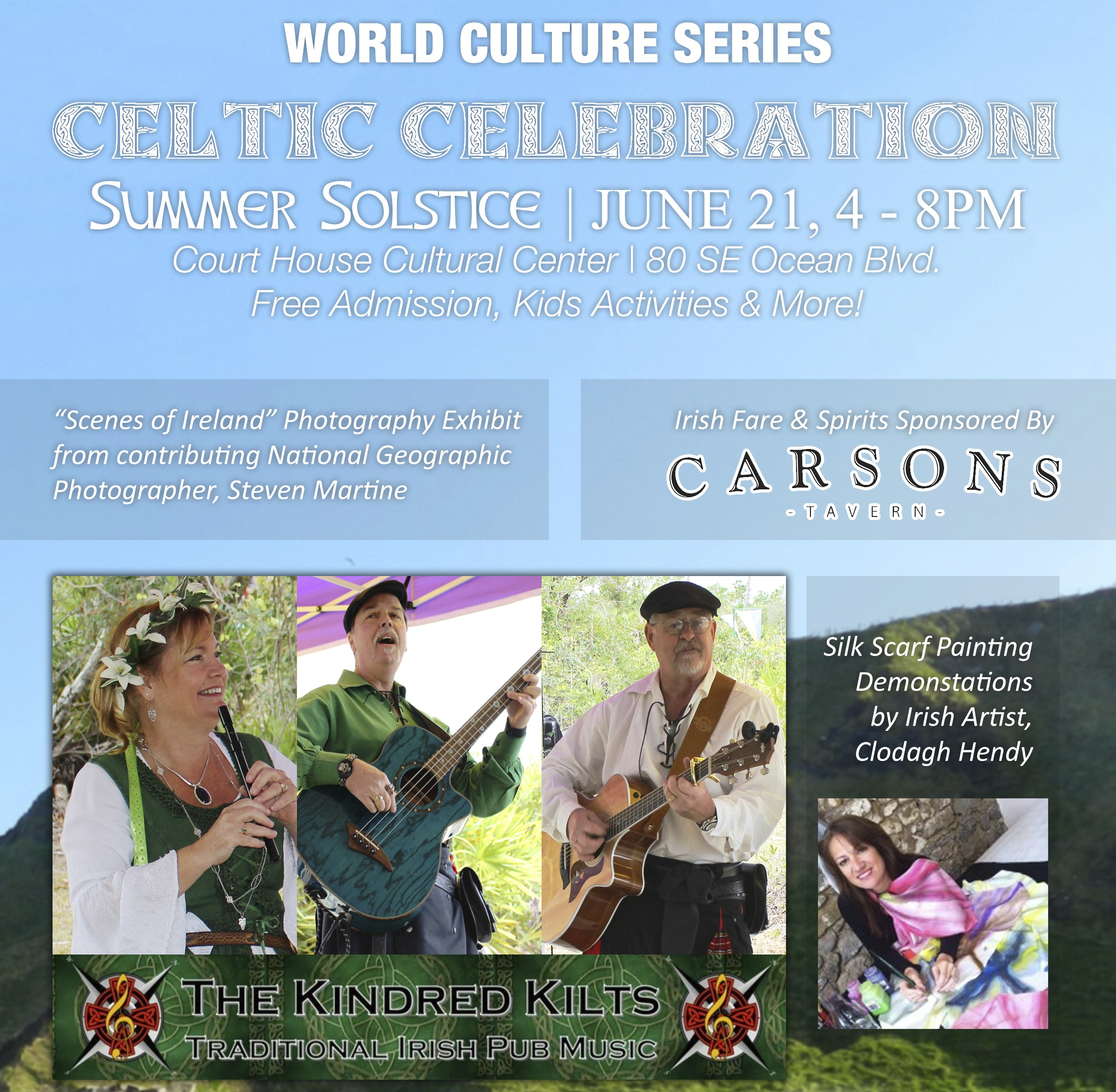 World Culture Series presents Celtic Celebration | Summer Solstice