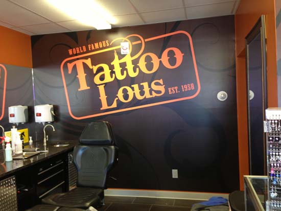 Tattoo Lous Wall Mural