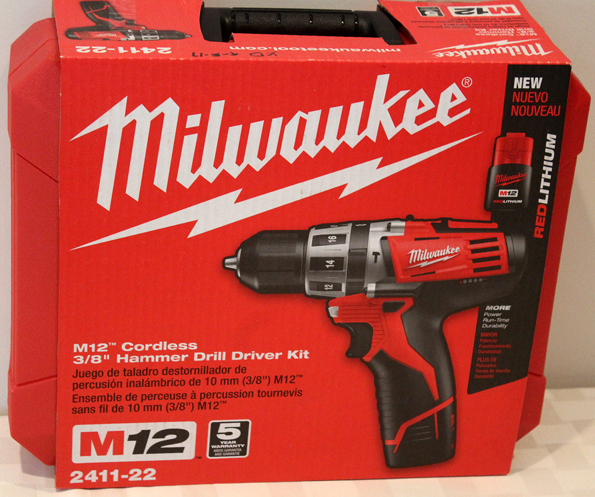 Milwaukee Cordless Drill - Donated by the The American Light Co.