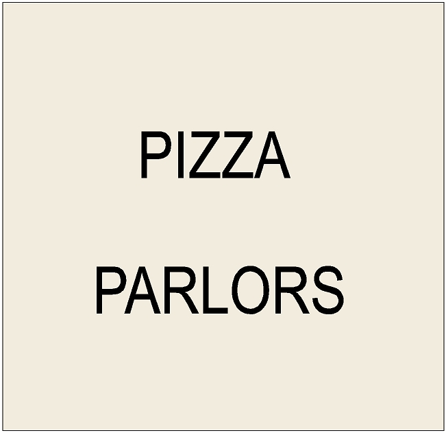 Q25200 - 3. Signs for Pizza and Italian Restaurants