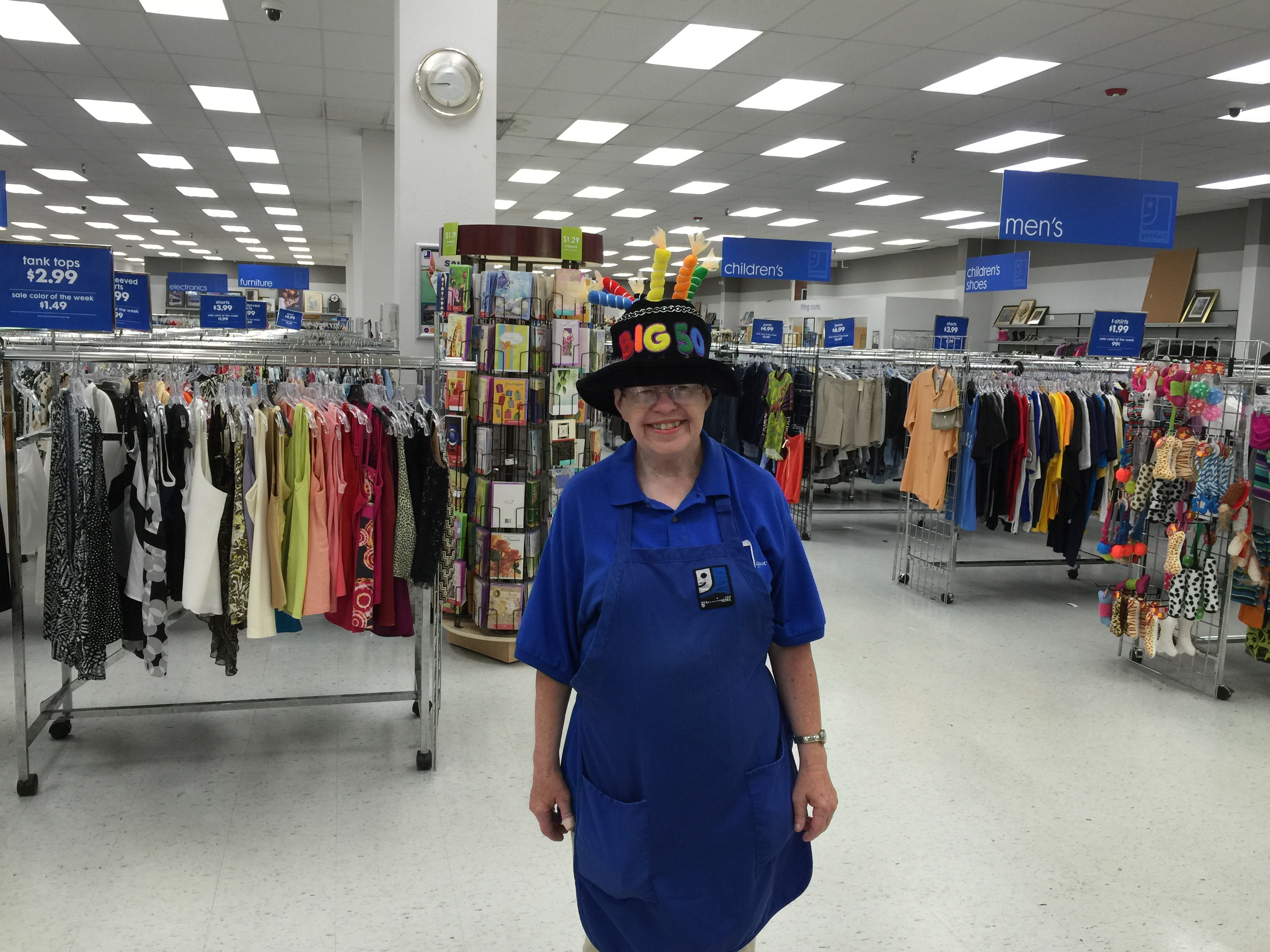 Nancy Thurman celebrates 50 years with Goodwill!