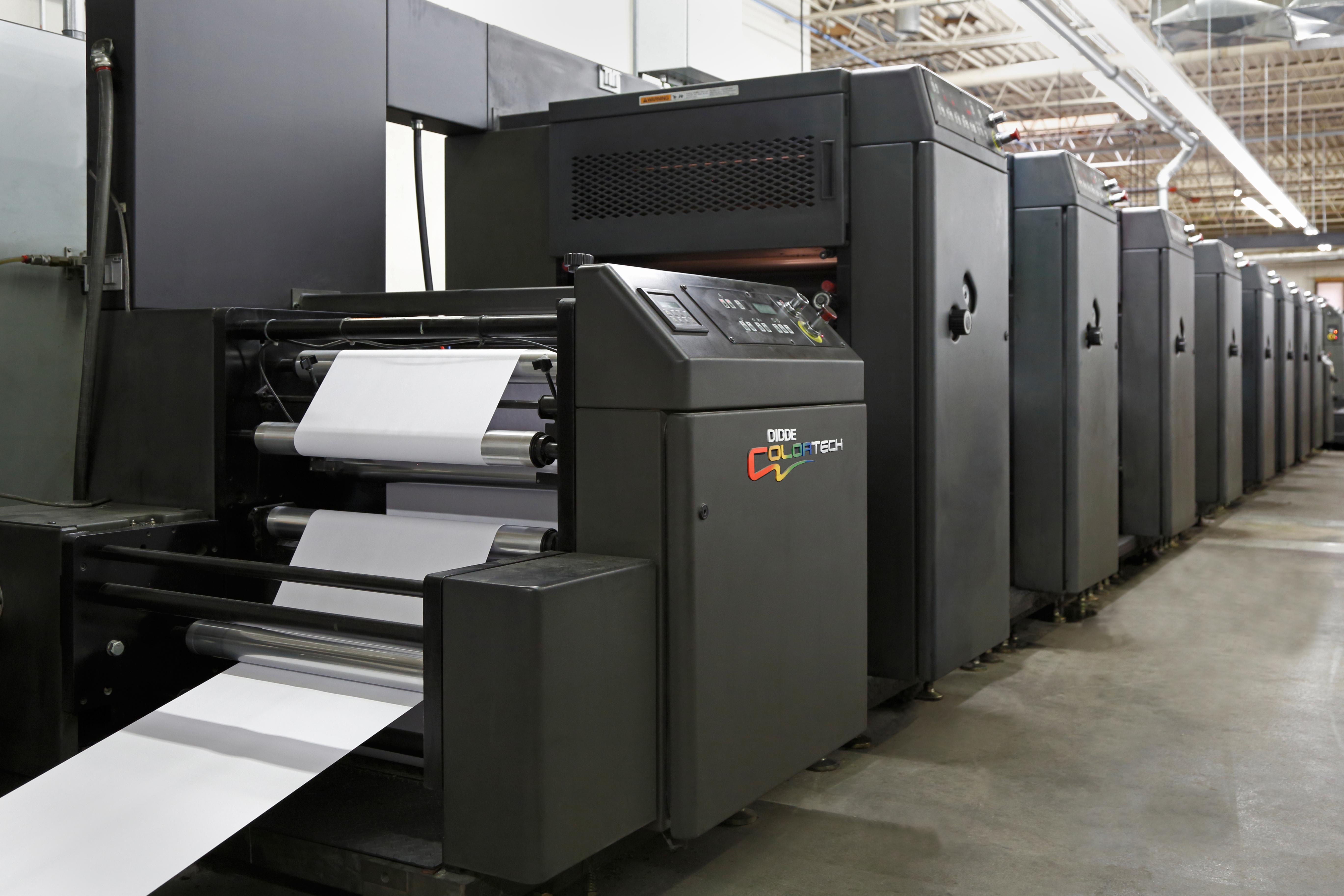 Envelopes and Web Printing