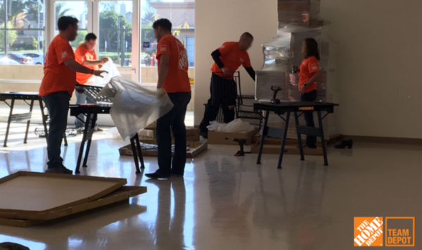 Thank you Team Depot and The Home Depot Foundation for your generous support!