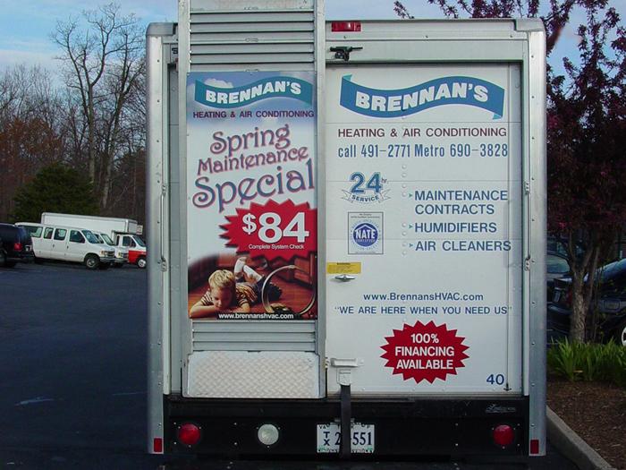 Brennans Van Graphics