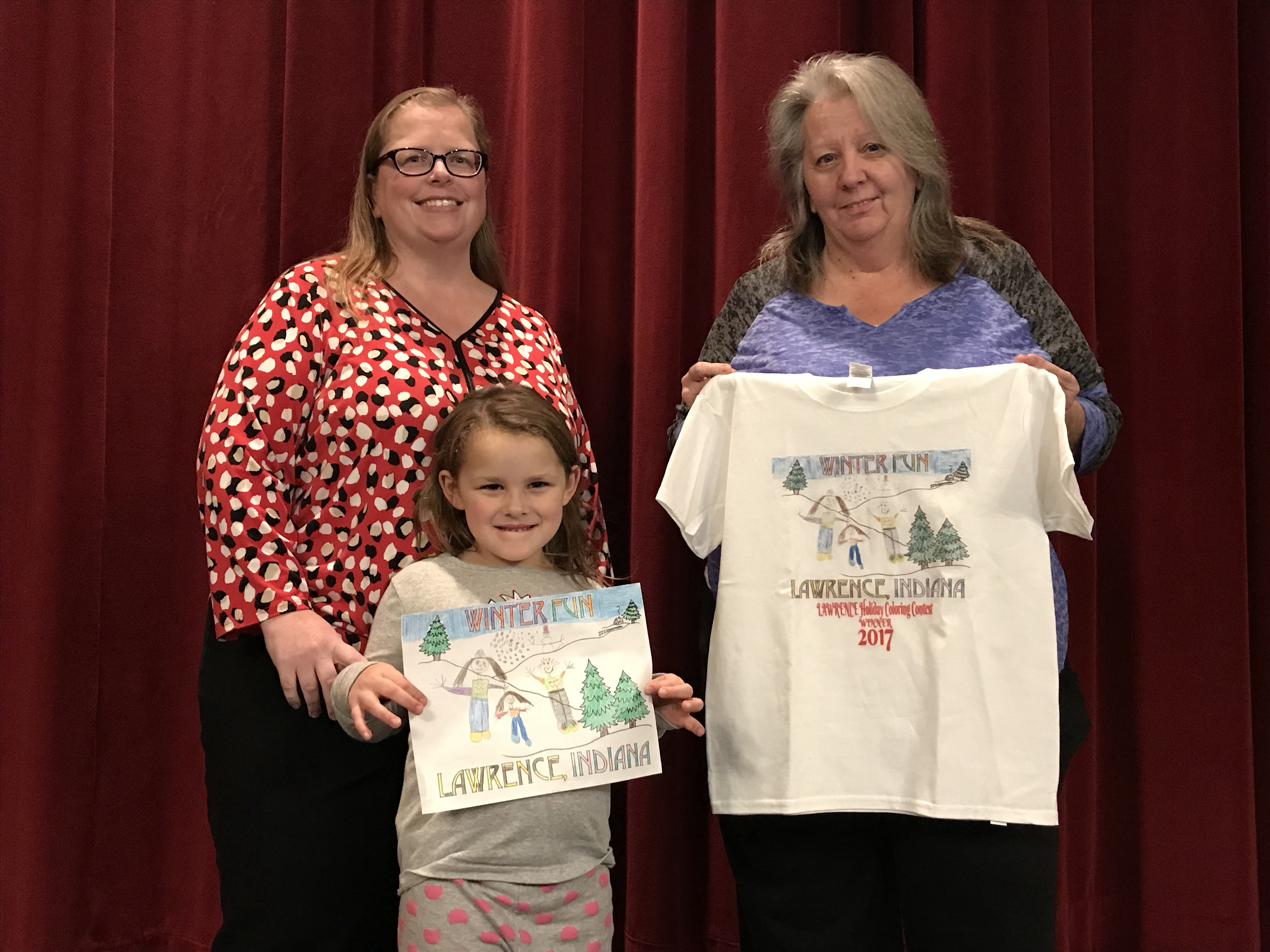 Congrats to Emily Bullock, our Lawrence Drawing Contest Winner!