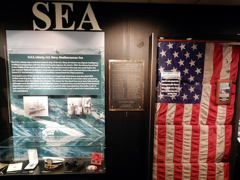 Service and Sacrifice exhibit