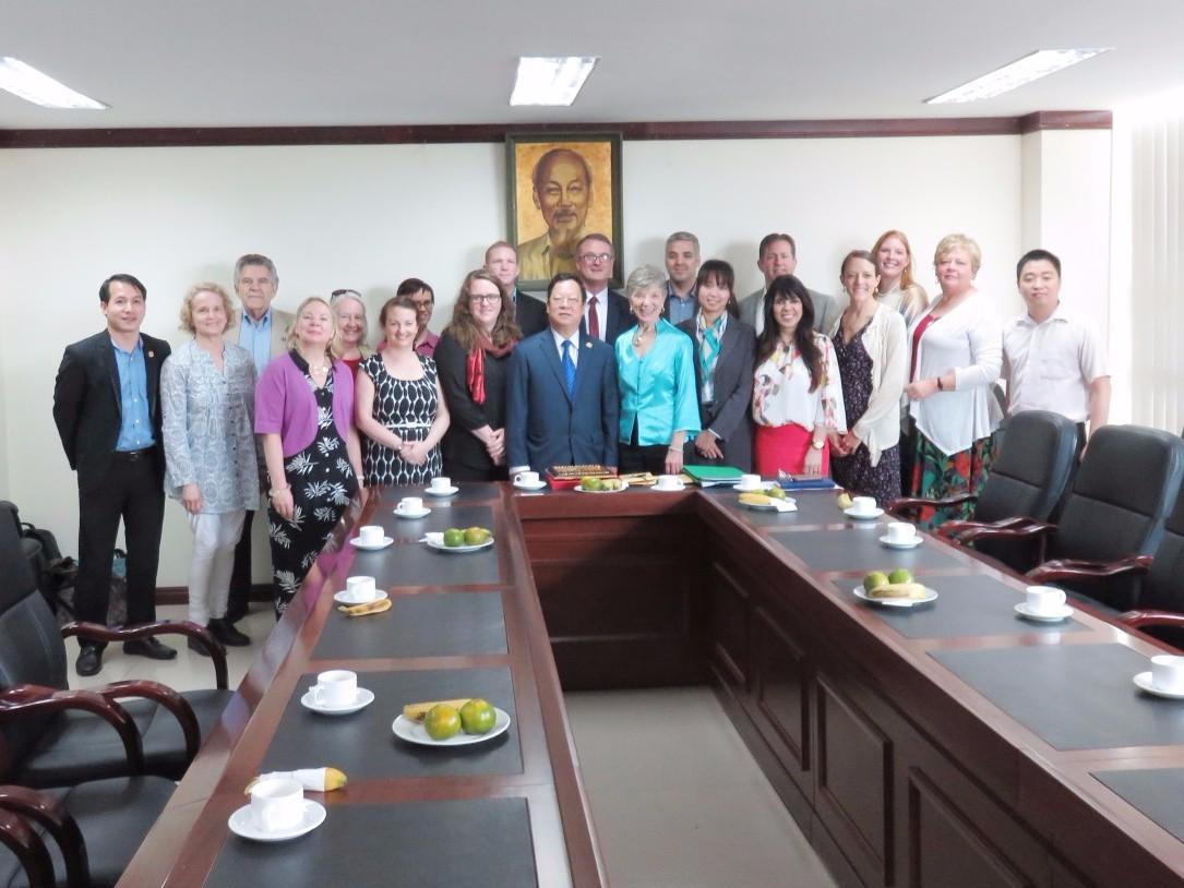 Meeting VUFO in Hanoi