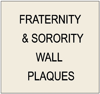 Y34501 - Carved High-Density-Urethane and Wood Wall Plaques for Fraternities and Sororities (Coats-of-Arms, Emblems, Seals, Crests)