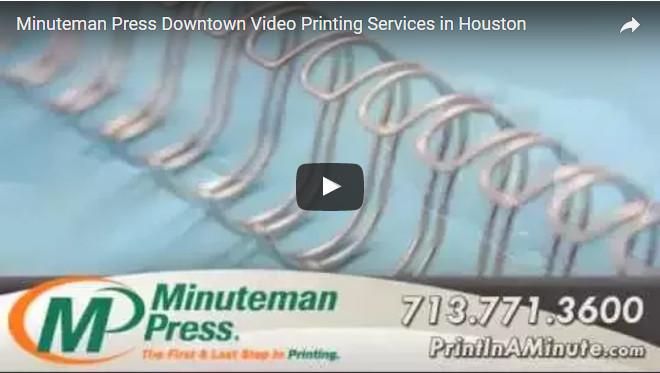 Houston printing including business cards letterhead envelopes memo pads multi part forms brochures booklets flyers postcards presentation folders invitations colourmoves