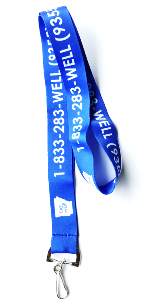 Be Well Lanyard