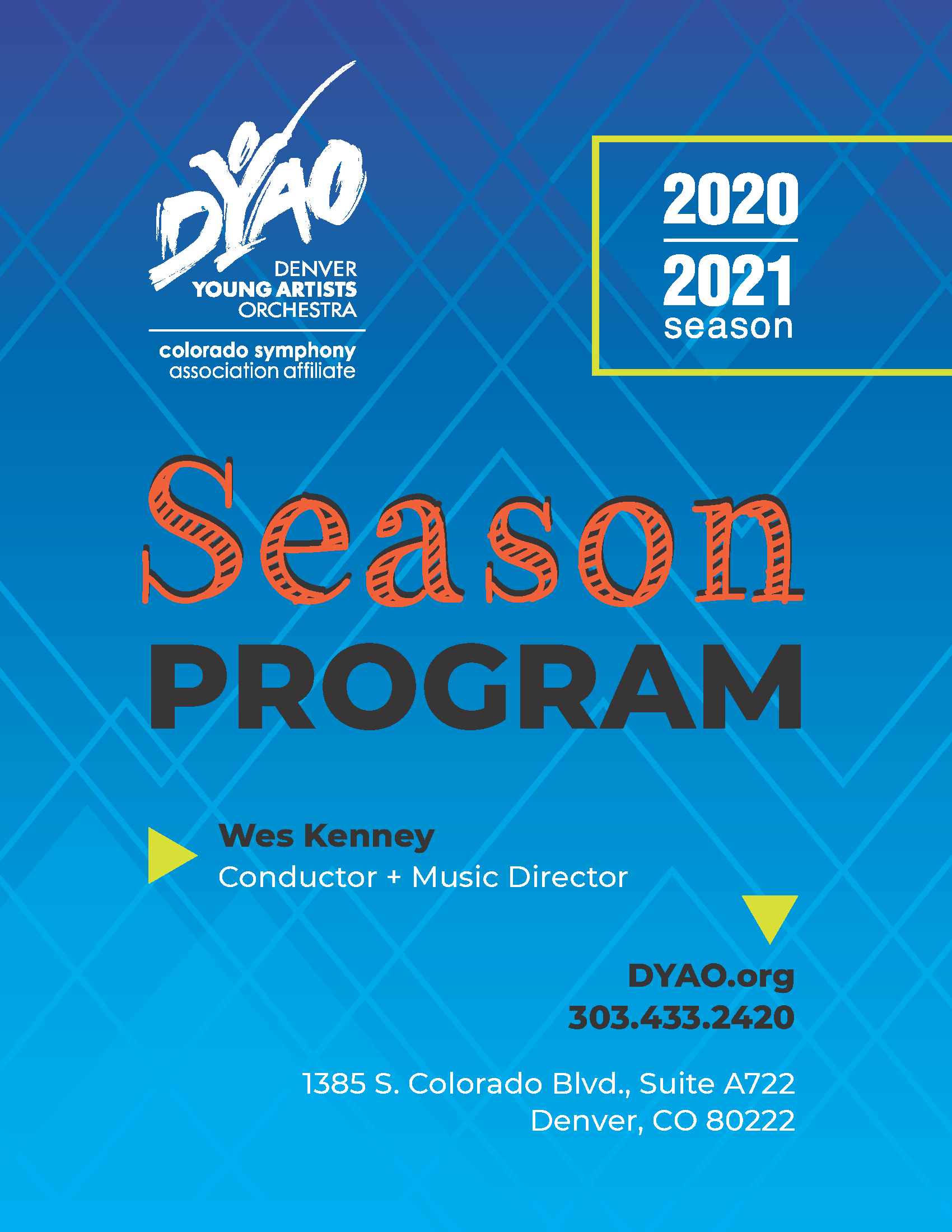 Our 2020-2021 Season Program