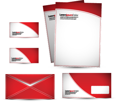 letterhead|stationery|business cards|envelopes|
