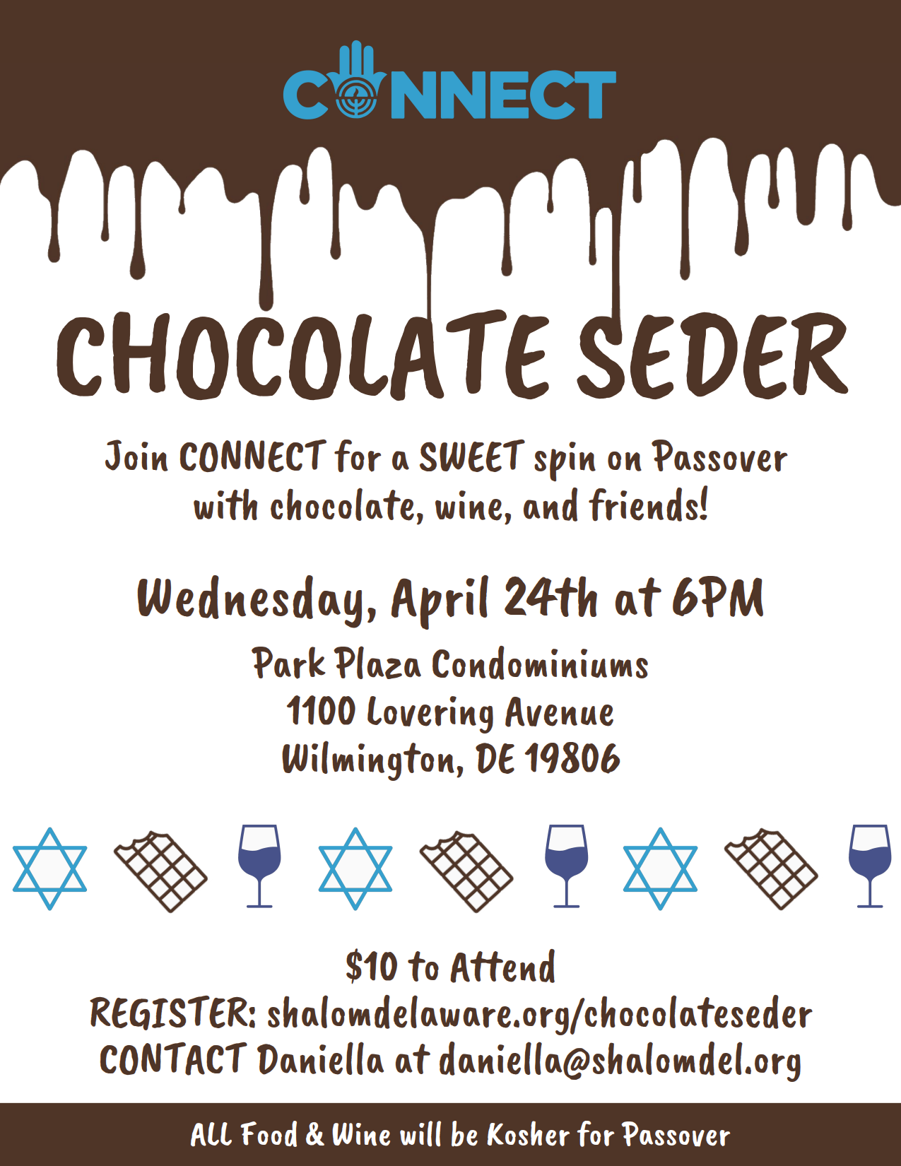 CONNECT Chocolate Seder