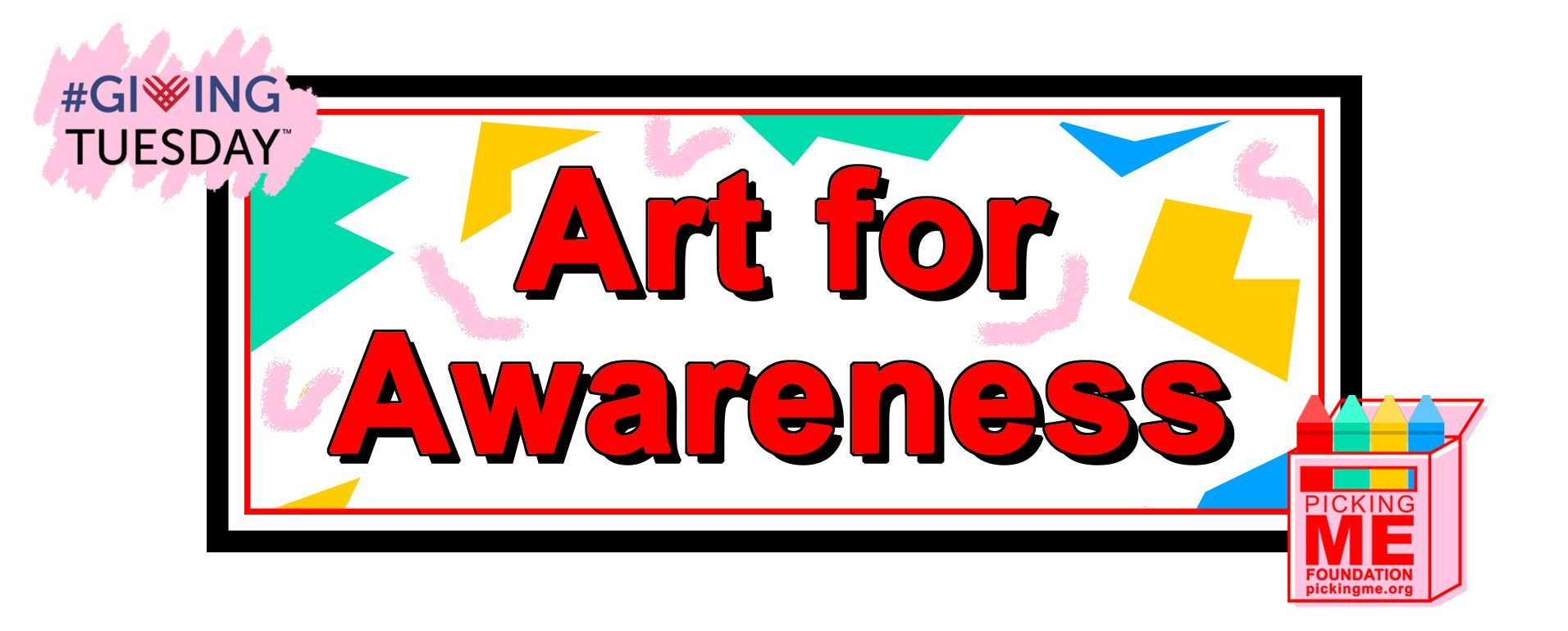 #GivingTuesday: Art for Awareness Party!
