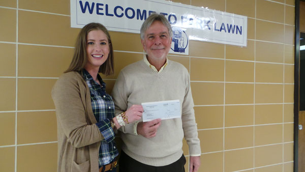 Park Lawn Awarded $2,500 Grant from the Community Giving Fund