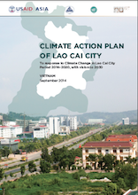 Climate Action Plan of Lao Cai city to response to Climate Change - period 2014–2020, with vision to 2030